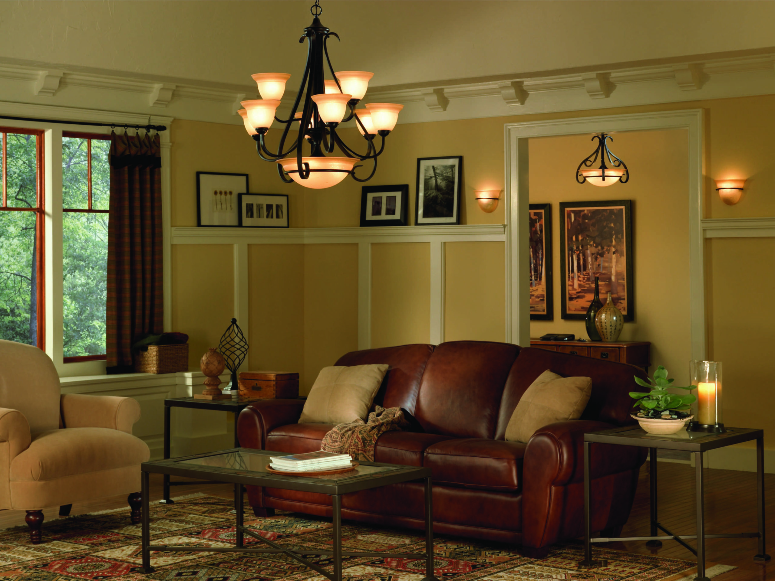 10 Ways To Use Lighting To Create A More Inviting Living Room Galleria Lighting